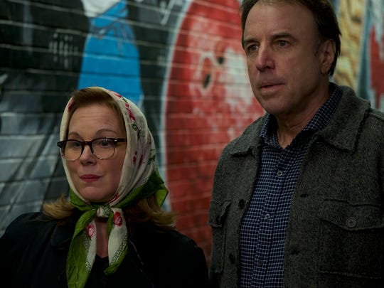 "Elizabeth Perkins and Kevin Nealon  in a scene from "" Super Sex"" directed by Matthew Modine and screened at Palm Springs International ShortFest 2017."