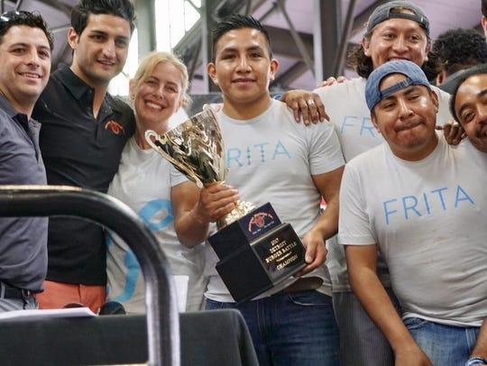 Frita Batidos wins Burger Battle Champion Sunday at