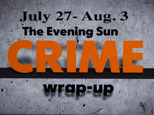 Thumbnail for Crime wrapup for July 27-Aug 3