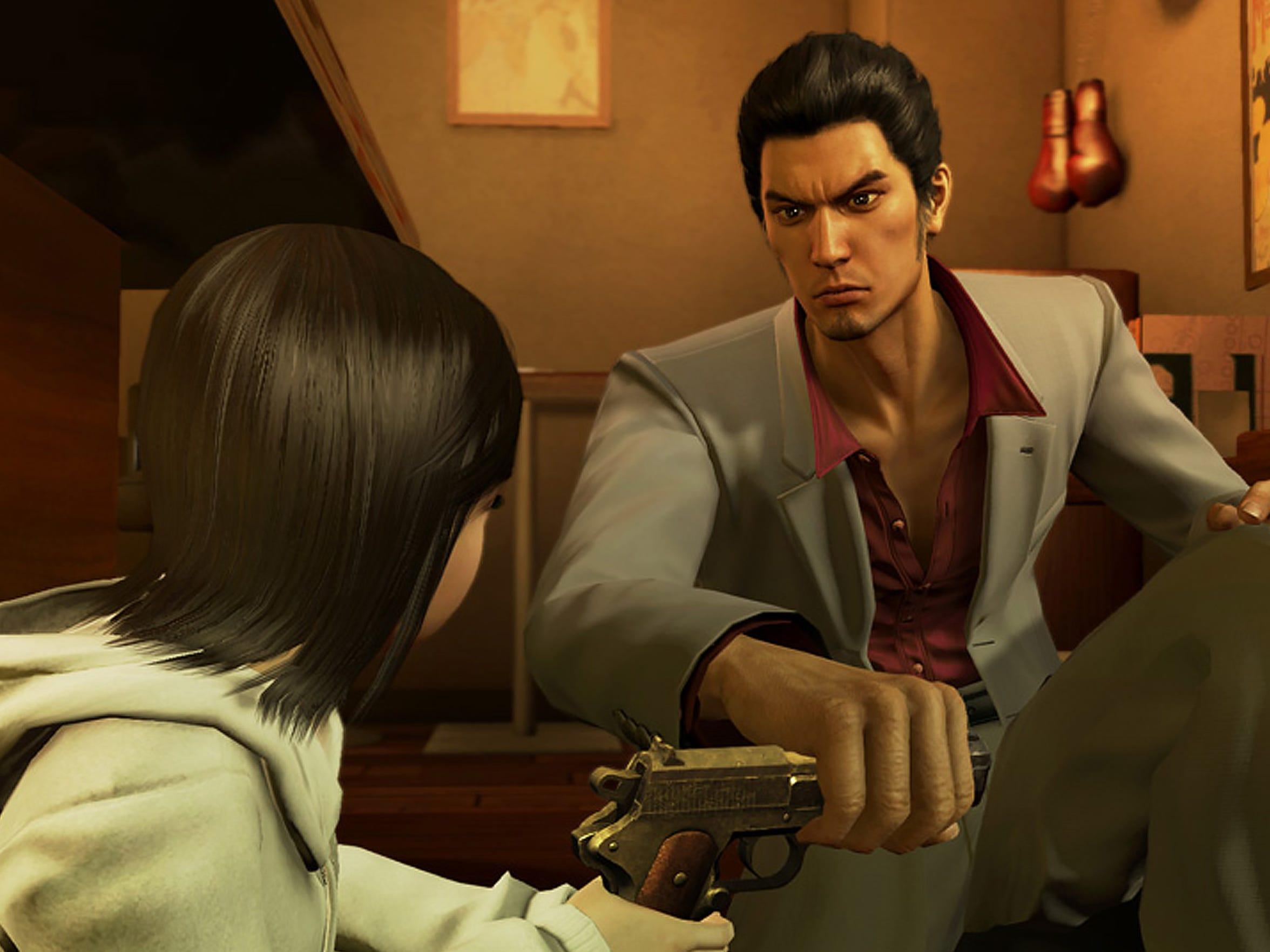 Yakuza Kiwami, PS4.