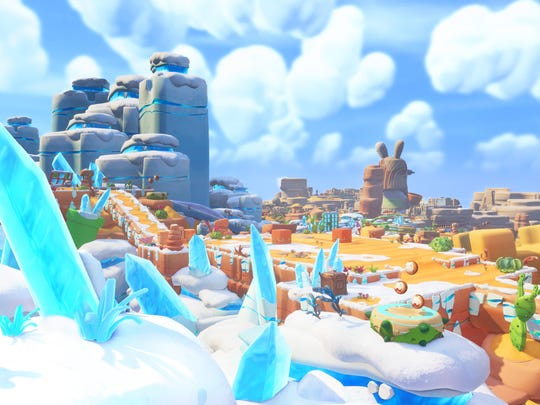 Mario + Rabbids Kingdom Battle, Nintendo Switch.
