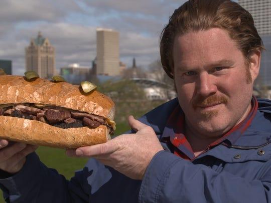 Casey Webb, host of Man v. Food.