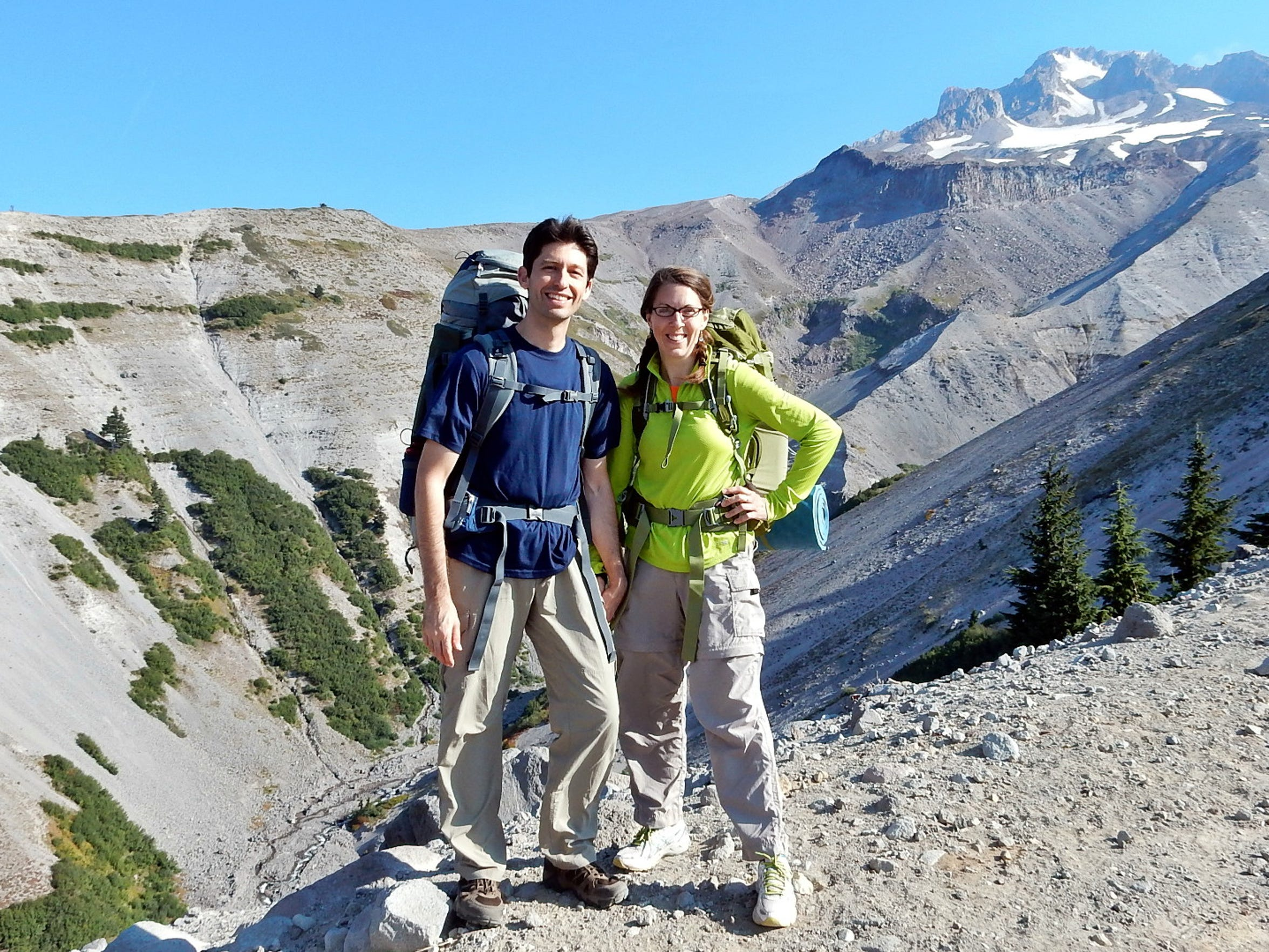 Josh and Heather Legler are the hosts of The First 40 Miles: Hiking and Backpacking Podcast.