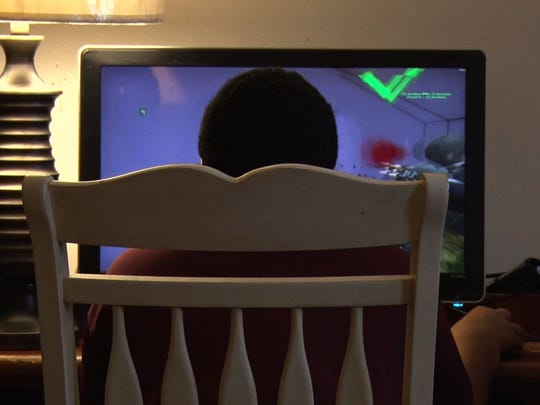 """The documentary """"Screenagers"""" examines the amount of"""