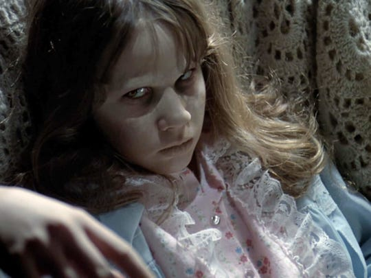Linda Blair plays a devilish young girl in 1973's 'The