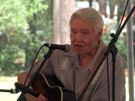 Florida folk legend Frank Thomas will also perform at the second annual Florida Frontiers Festival.