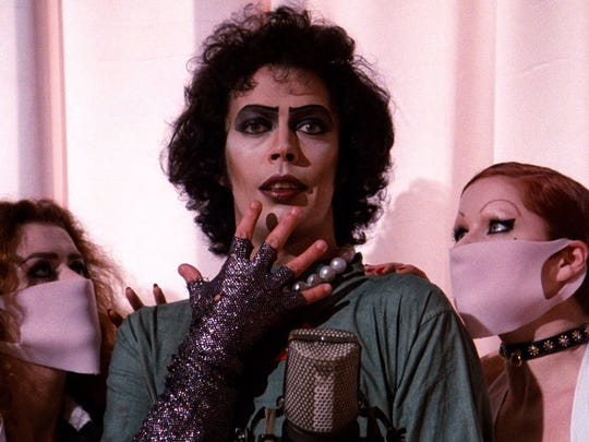 """The Rocky Horror Picture Show"" will be screened Saturday at the Gillioz Theatre."