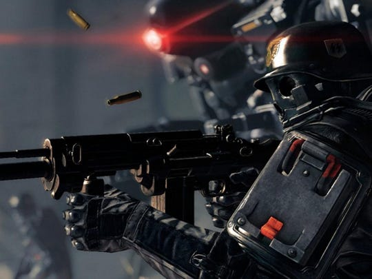 Wolfenstein II: The New Colossus for PC, PS4, Xbox One.