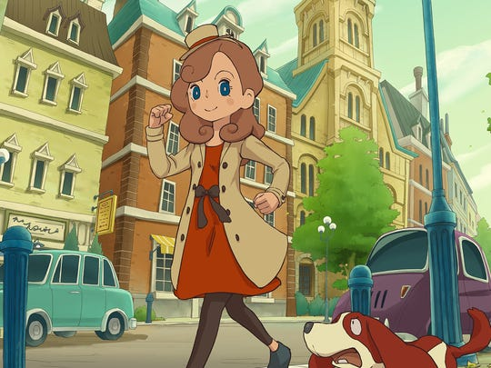 Layton's Mystery Journey: Katrielle and the Millionaire's Conspiracy, 3DS.