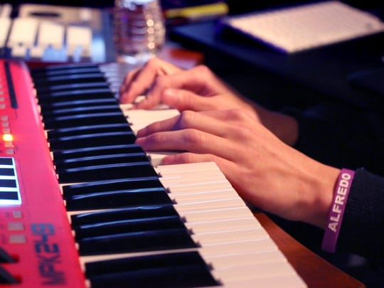 EriQ Z said if you learn the piano you have the potential to know almost endless instruments with modern electronic keyboards. He creates multiple sounds and beats with his keyboard.