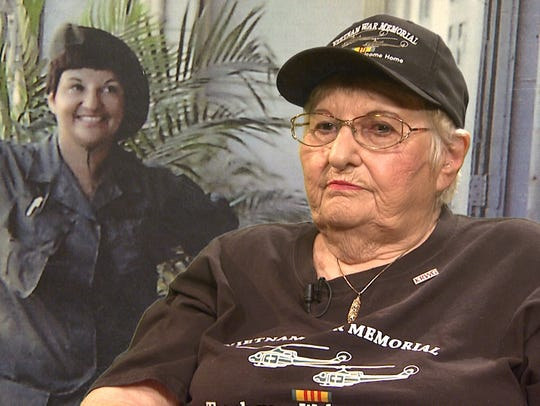 Frances Williams was among the New Mexico Vietnam veterans