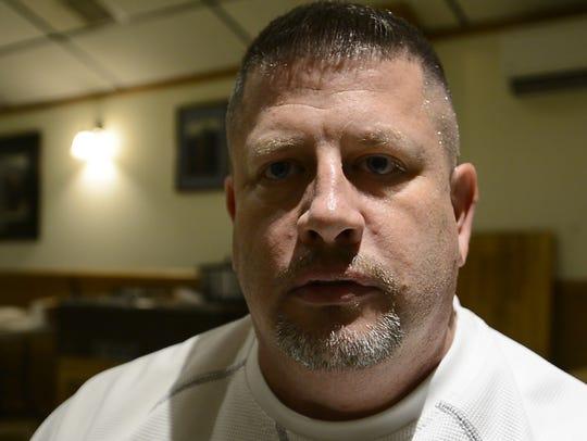 Robert Reiner from Lebanon PA, one of three veterans