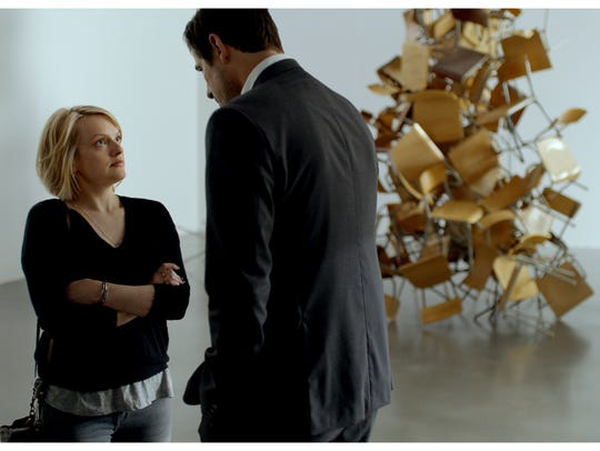 """Elizabeth Moss and Cales Bang in """"The Square,"""" a Magnolia"""
