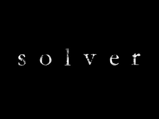 Solver poster. The film has screenings in Rochester in January 2018.