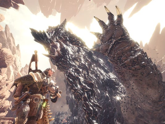 Monster Hunter World's Zorah Magdaros is the size of an actual mountain.