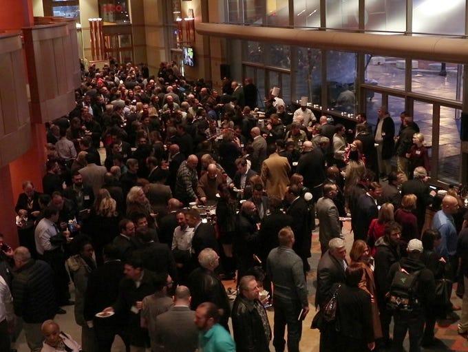 Hundreds of hopeful entrepreneurs gather at NJPAC for