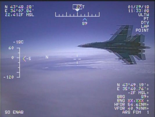 Russia: If U.S. Navy pilots can't handle buzzing, stay out of the Black Sea
