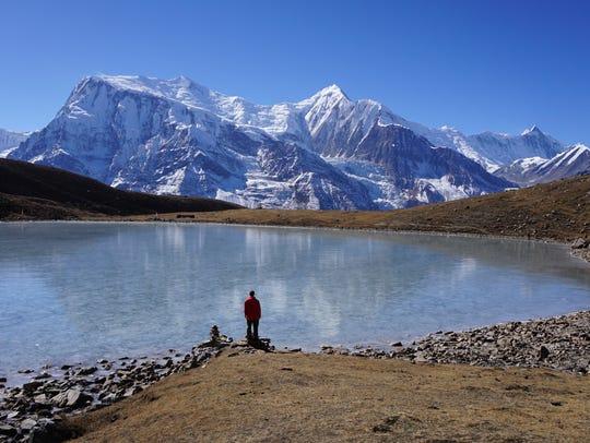 Manang, Nepal.