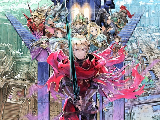"""Radiant Historia: Perfect Chronology"" for the Nintendo 3DS."