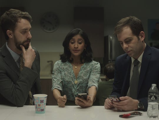 Matt Ingebretson as Matt, Aparna Nancherla as Grace
