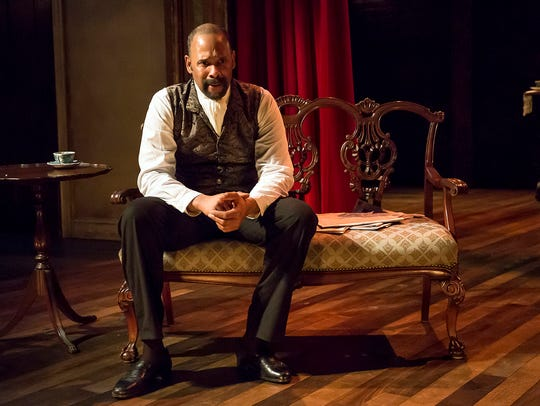 Ken Early stars as Ira Aldridge in the Ensemble Theatre