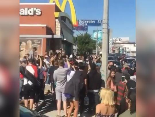 Fans flock to McDonald's to get Szechuan Sauce.
