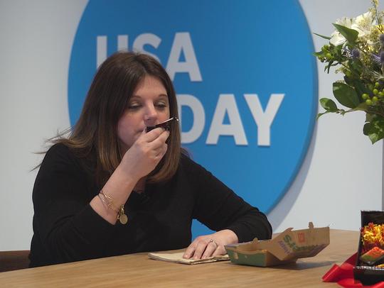 USA TODAY's Noelle Pileggi smells McDonald's Szechuan