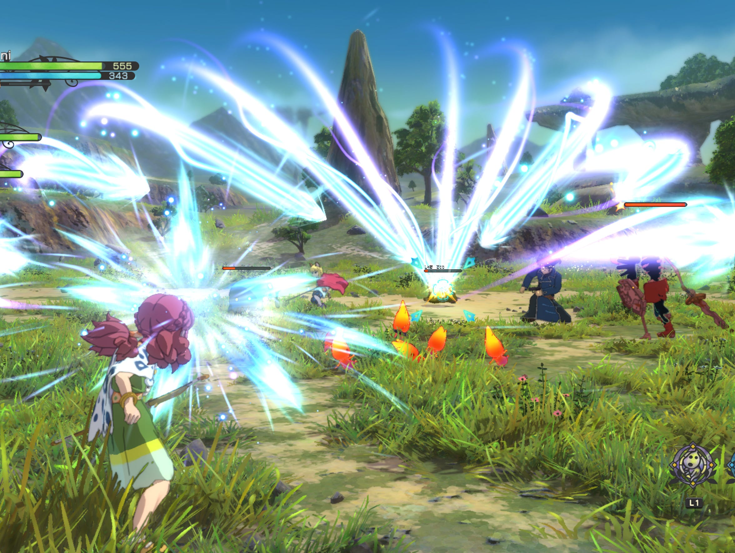 Ni No Kuni 2 for PS4 and PC.