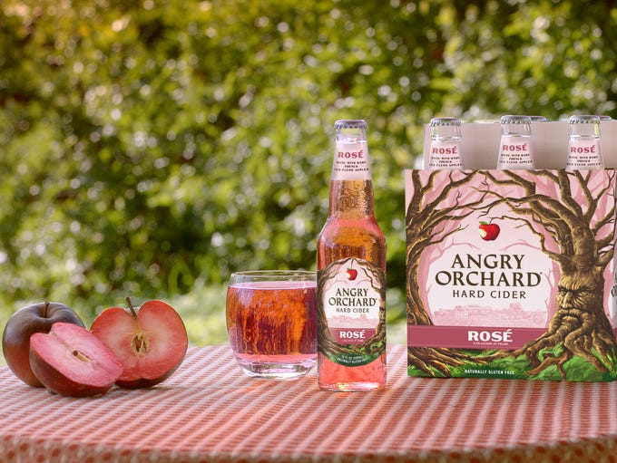 Angry Orchard Rosé debuted in February. The hard cider