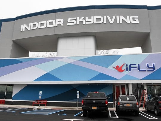 iFly Indoor Skydiving is now open on Route 4 in Paramus. Photographed on Tuesday, April 3, 2018.