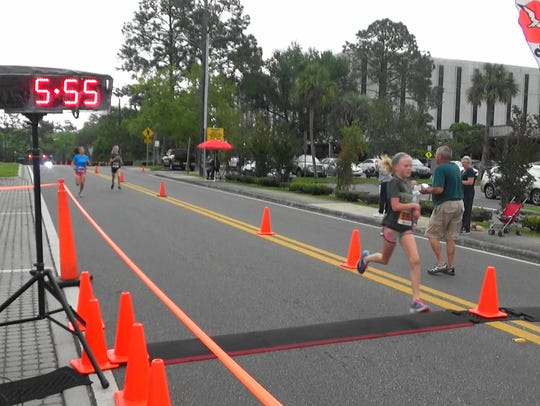 Winner of the mile race at Springtime Tallahassee