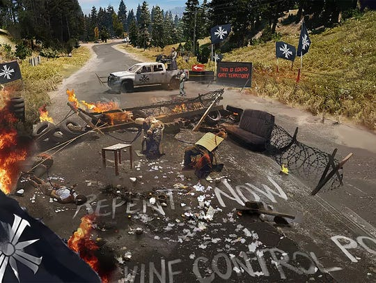 Far Cry 5 for PC, PS4 and Xbox One.