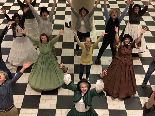 York County History staff members showed off their
