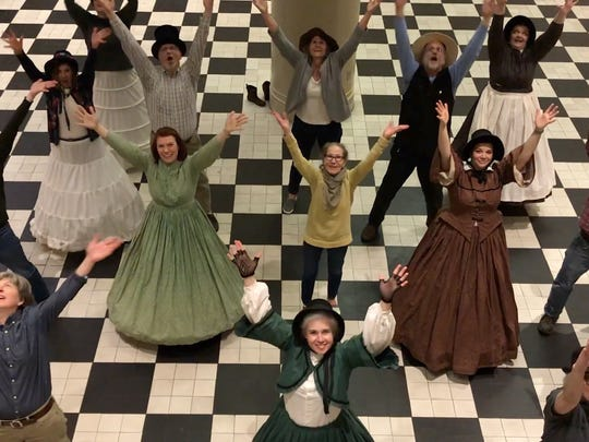 "York County History staff members showed off their museums and historical locations in their ""Dance Off"" video."