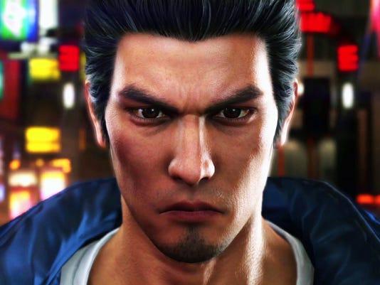 Kazuma Kiryu in Yakuza 6: The Song of Life for PlayStation 4.
