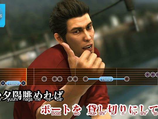 Karaoke hijinks return in Yakuza 6: The Song of Life for PS4.