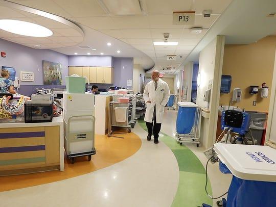 Dr. Mark Rosenberg, chairman of emergency medicine