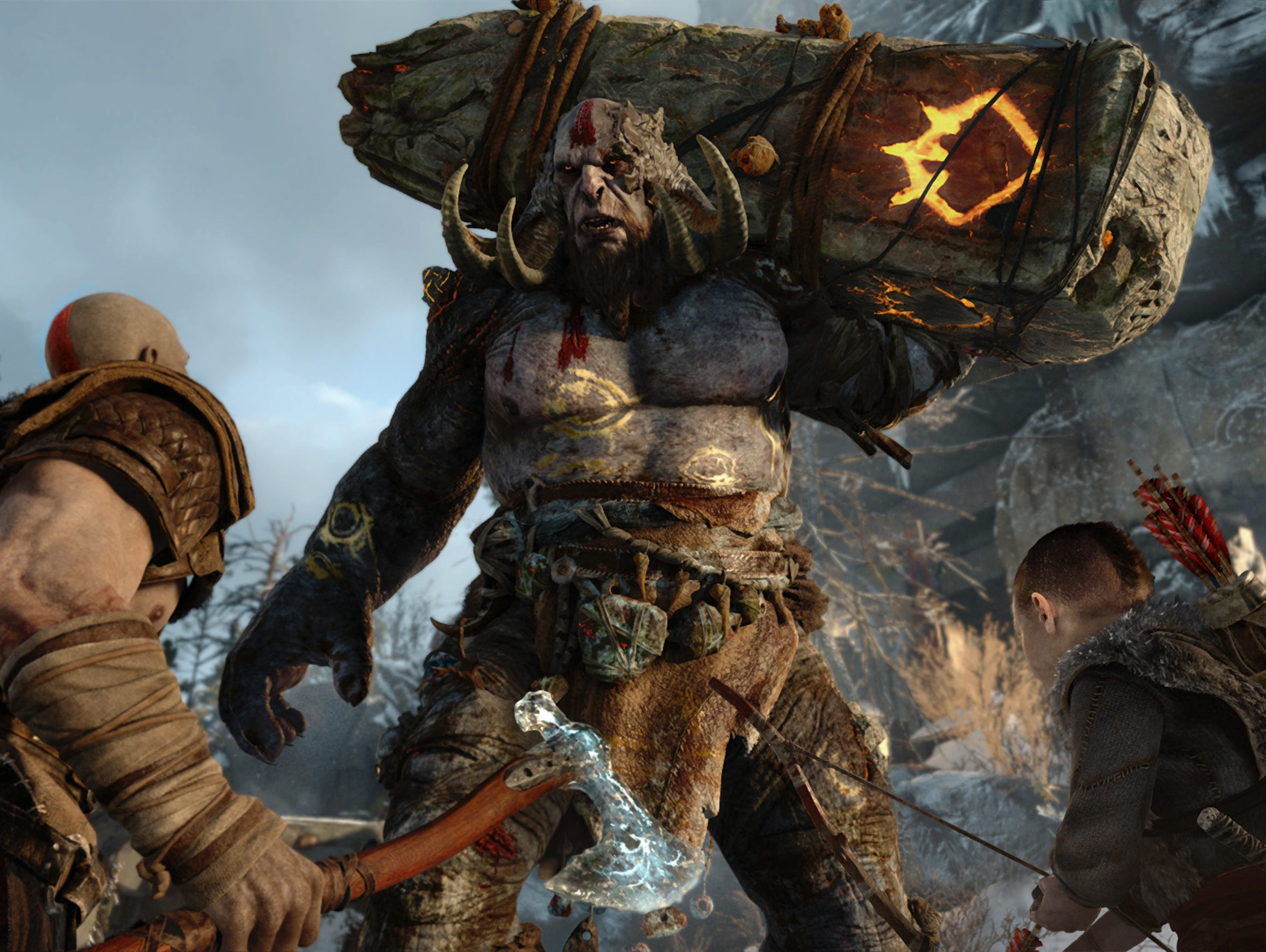 God of War for the Sony PlayStation 4.