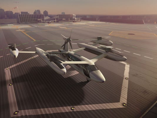 Uber Flying Taxis Get A Boost From Army Nasa