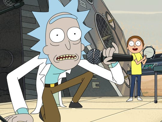 """Rick and Morty """"Get Schwifty"""" to save the world in"""