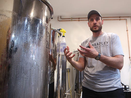 Bradley Brew Project owner Mike Ziolkowski explains