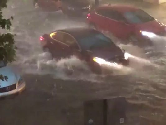 Powerful storms slam the Northeast