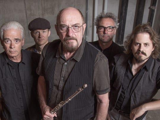 Ian Anderson and Jethro Tull will perform  May 5 at the VIsalia Fox.