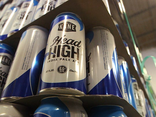 Kane Brewing's 'Head High' is one of the states most