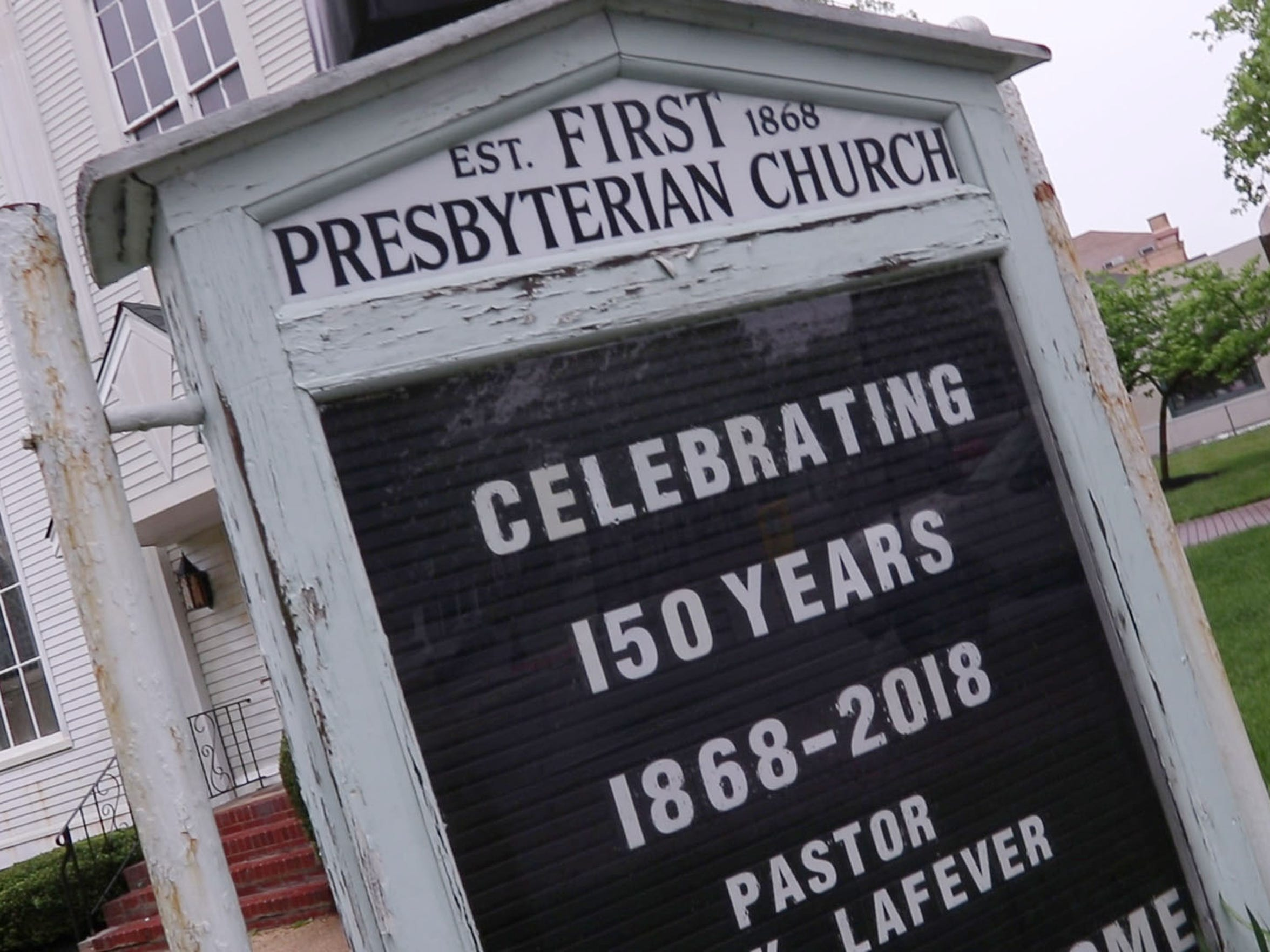 The First Presbyterian Church in Lakewood recently