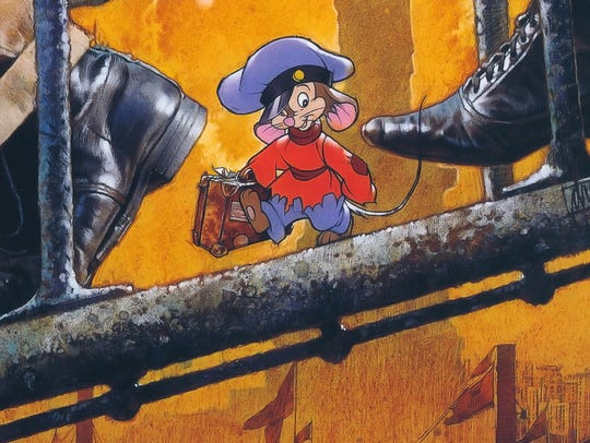 "Don Bluth's ""An American Tail"" makes a return trip"