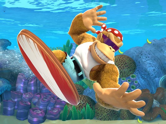"Funky Kong enters the fray in ""Donkey Kong Country: Tropical Freeze"" for the Nintendo Switch."