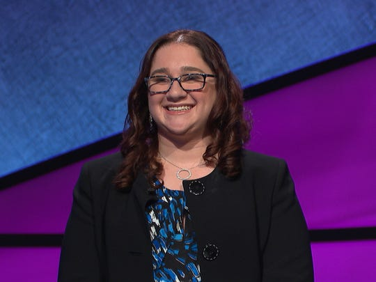 "Former Wicomico County resident Michelle Rosen will appear on ""Jeopardy!"" on June 6. Courtesy of Michelle Rosen, ""Jeopardy!"""