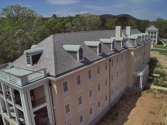 A restoration project at Asheville's Charles George
