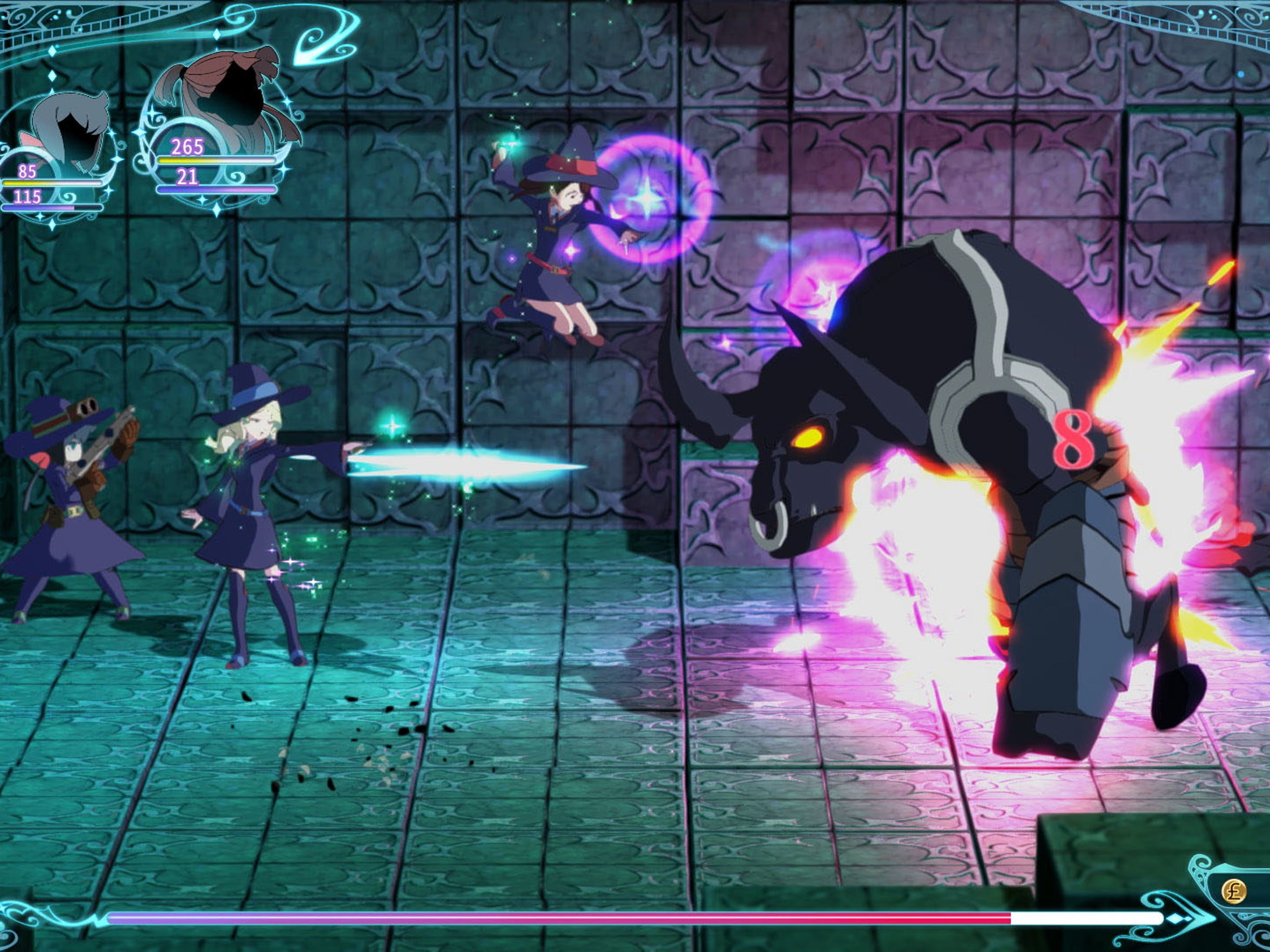 Little Witch Academia: Chamber of Time, for PS4 and PC.